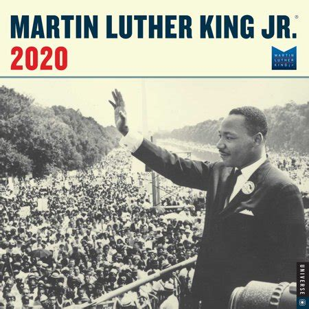 martin luther king jr wall calendar walmartcom