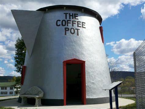 pennsylvania center   book coffee pot building