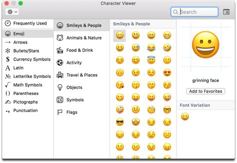 A Fast Keyboard Shortcut For Mac Emojis