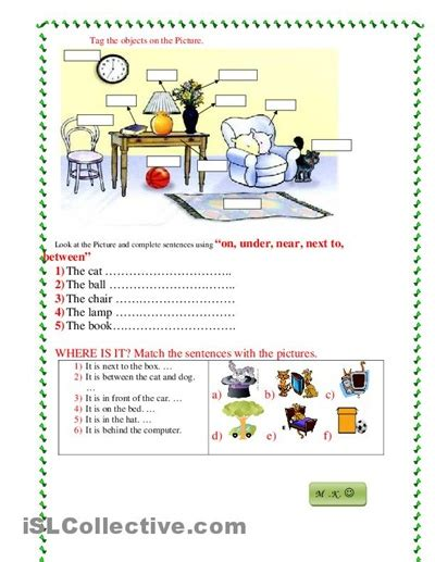 prepositions writing images prepositions english