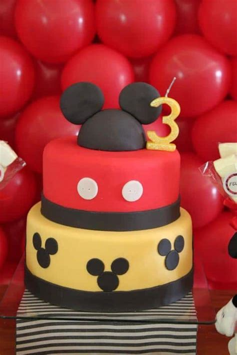 mickey mouse birthday party ideas spaceships