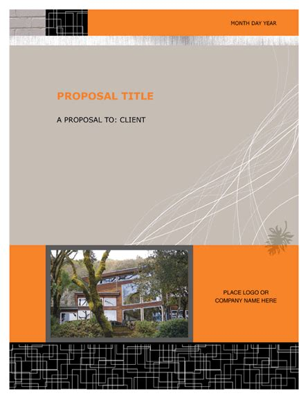 bid proposal template  template downloads