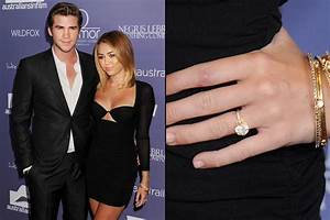miley cyrus and her partner liam hemsworth break up rumor With miley cyrus wedding ring