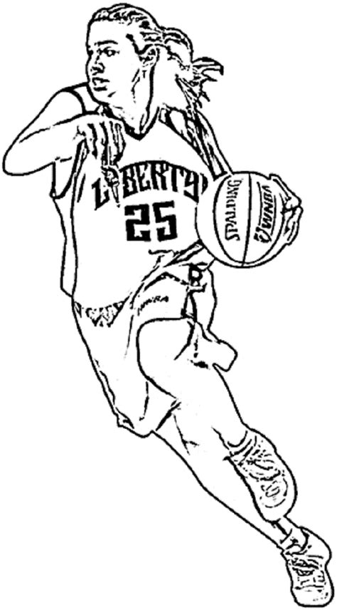 nba team coloring pages   print