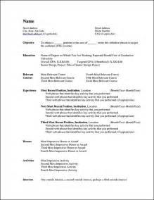 resume template free microsoft curriculum vitae templates for microsoft word free sles exles format resume