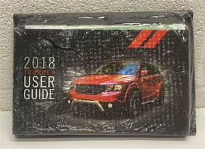 2018 Dodge Journey Owners Manual Set Oem With Case