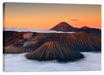 Jurassic Volcano Canvas Wayfair