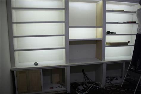 Bookcase Led Lighting by Cheap Even Energy Efficient Lighting For Bookshelves And