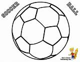 Ball Soccer Coloring Football Pages Colouring Worksheets Sports Nike Drawing Easy Soccerball Printable Yescoloring Balls Getdrawings Sheets Clip Printables Clipart sketch template
