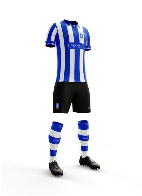 Sheffield Wednesday home shirts - Blue or White central ...