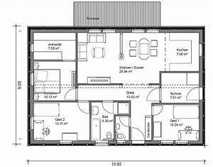 Grundrisse Für Bungalows 4 Zimmer : bungalow grundrisse 4 zimmer ihr traumhaus ideen ~ Sanjose-hotels-ca.com Haus und Dekorationen