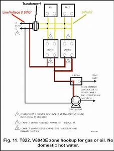 Honeywell V8043e1012 Wiring Diagram