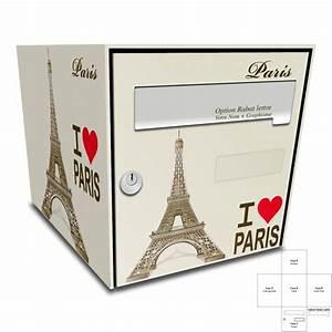 Stickers Boite Aux Lettres : sticker boite aux lettres tour eiffel paris ~ Dailycaller-alerts.com Idées de Décoration