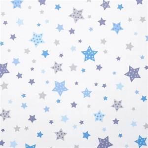 Kinderzimmer Blau Grau : dinki balloon kinderzimmer stoff baumwolle 39 sterne 39 blau grau bei fantasyroom online kaufen ~ Markanthonyermac.com Haus und Dekorationen