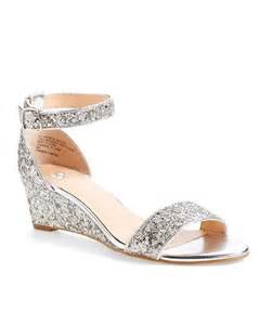 silver wedge bridesmaid shoes best 25 bridal wedges ideas only on wedding shoes lace wedges outdoor wedding