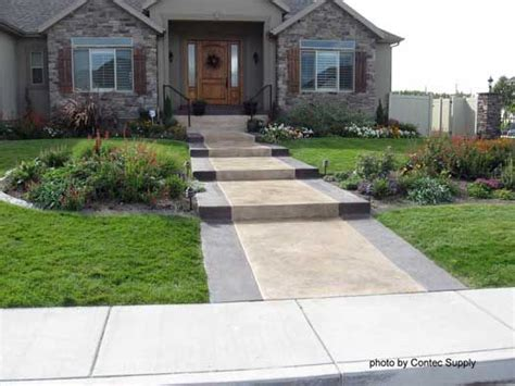 concrete front walkway designs concrete floor stain front doors stains and concrete steps