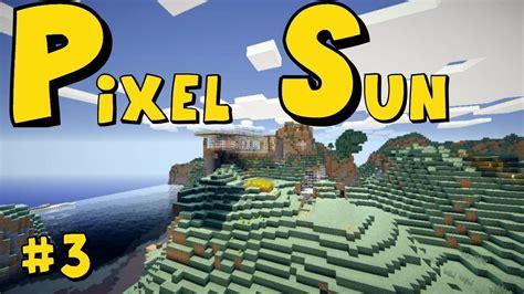 minecraft pixel sun server   redstone house  youtube