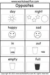 Kindergarten Ela Worksheets Http Worksheetfun Com Wp Content Uploads 2013 10 Opposites Pictures Wfun 1 Png