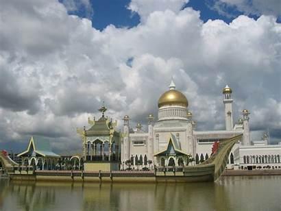 Brunei Masjid Omar Ali Mosque Architecture Saifuddien