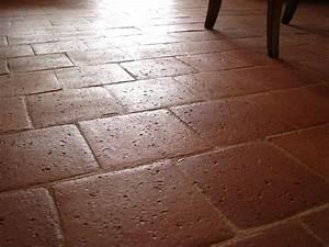 carreaux anciens carrelage finition terre cuite With carreaux anciens