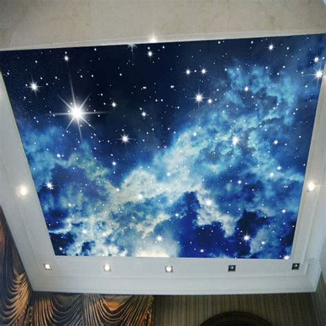 Wall Murals Sky by Galaxy Starry Sky Photo Wallpaper 3d View Wall Mural