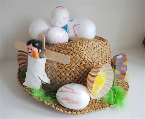 quick easy easter hat  spirited