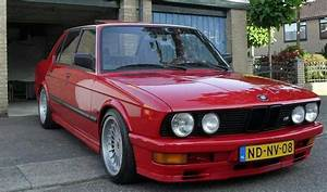 Bmw E28 M535i Red