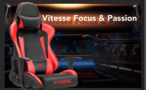 vitesse gaming office chair with carbon fiber design high