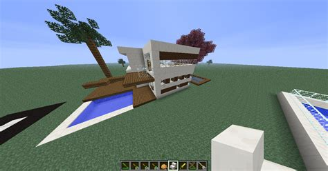 galerie maison moderne de luxe minecraft fr