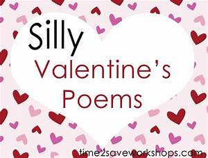 Silly Poems Valentine's: Fun with Words Poems for Children ...