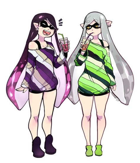 Squid Sisters's day off