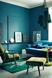 Beautiful, Color, Harmony, Interior, Design, Ideas, 110