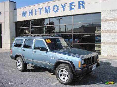 gunmetal blue jeep 1998 gunmetal pearl jeep cherokee sport 4x4 55019344