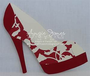 High heel shoe cardgif 1600x1350 patterns templates for High heel template for cards