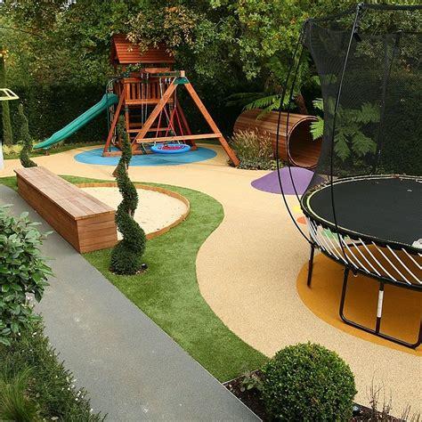 Backyard Playground Ideas - childrens play area garden design gardening faves