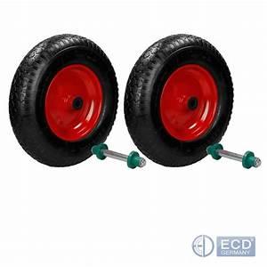 Roue De Brouette Avec Axe : 1 2 4 x roue de brouette pneumatique pneu ~ Melissatoandfro.com Idées de Décoration