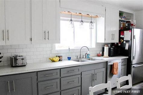 painting kitchen cabinets ideas before and after paint laminate kitchen cabinets before and after wow