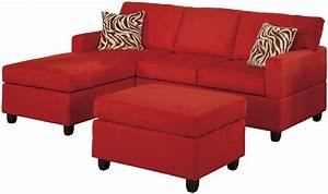 microfiber sectional sofa set 3 piece red reversible With red microfiber sectional sofa with chaise