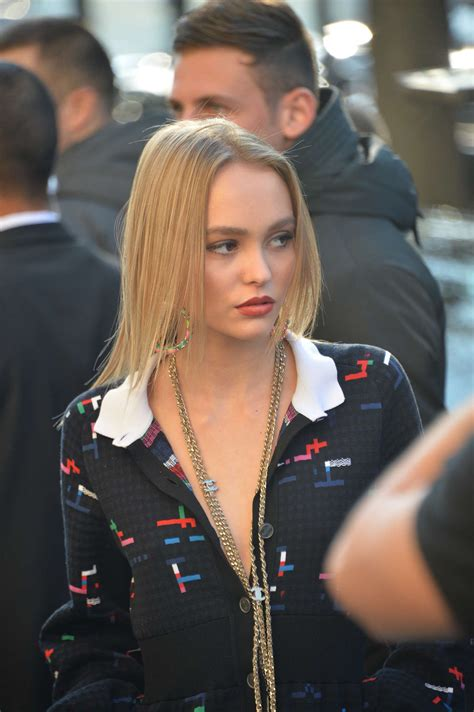 Chanel Spring Show Lily Rose Depp