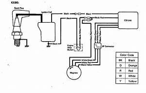110 Cc Stator Cdi Wiring Diagram  All Electrics 50 70 110