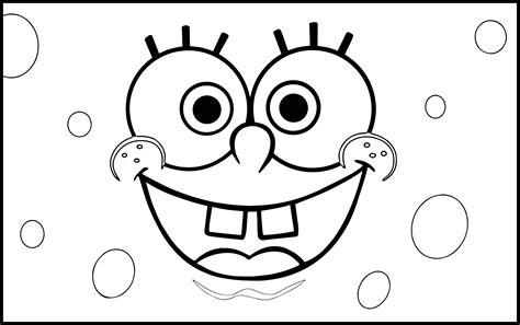 Sponge-bob-rectangle-coloring-page