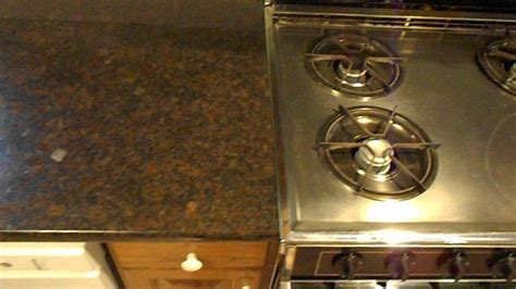 Coffee Brown Granite Countertops   Charlotte NC   YouTube