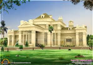 luxurious home plans unique luxury home kerala home design and floor plans