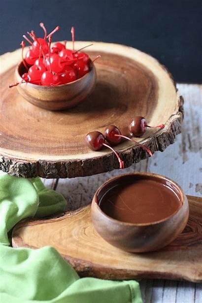 Double Cherries Chocolate Caramel Dipped Dip Cherry