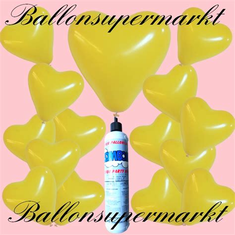 luftballon helium set luftballons helium set miniflasche herzluftballons in