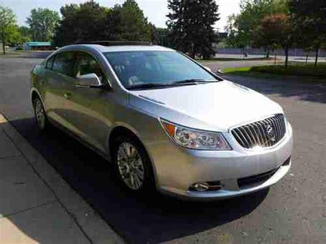 2012 Buick Lacrosse Hybrid by Purchase Used 2012 Buick Lacrosse Hybrid In Dearborn
