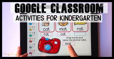 google classroom activities  kindergarten cvc words