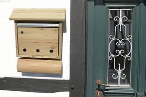 Briefkasten Aus Holz : briefkasten mit zeitungsrolle aus l rchenholz nachhaltiges aus sozialen manufakturen ~ Udekor.club Haus und Dekorationen
