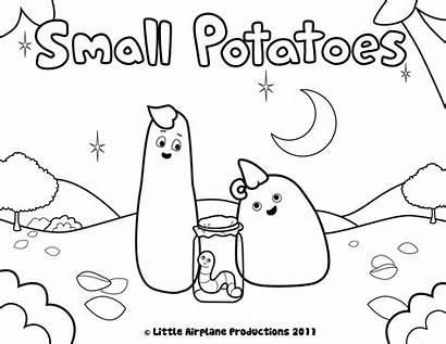 Coloring Pages Potatoes Kepler Erica Mash Printable