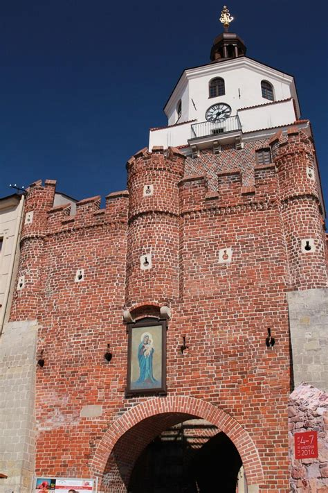 Brama Krakowska w Lublinie - Lublin Mury miejskie Atrakcje ...
